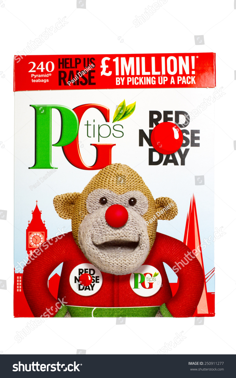 Slough uk february 8 2015 red stock photo 250911277 shutterstock slough uk february 8 2015 red nose day celebrated on a box biocorpaavc Images
