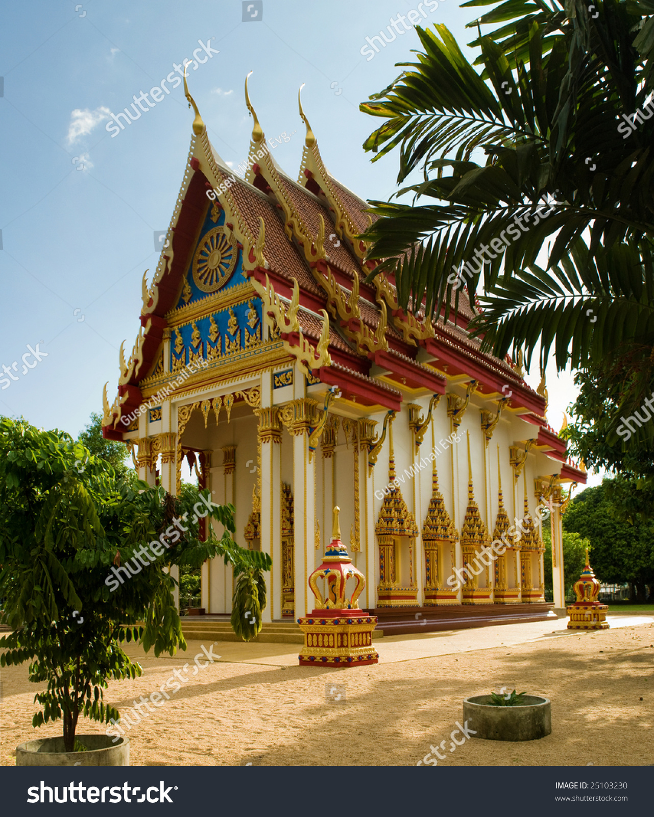 Wat Suwan Kuha Temple Stock Photo 25103230 : Shutterstock