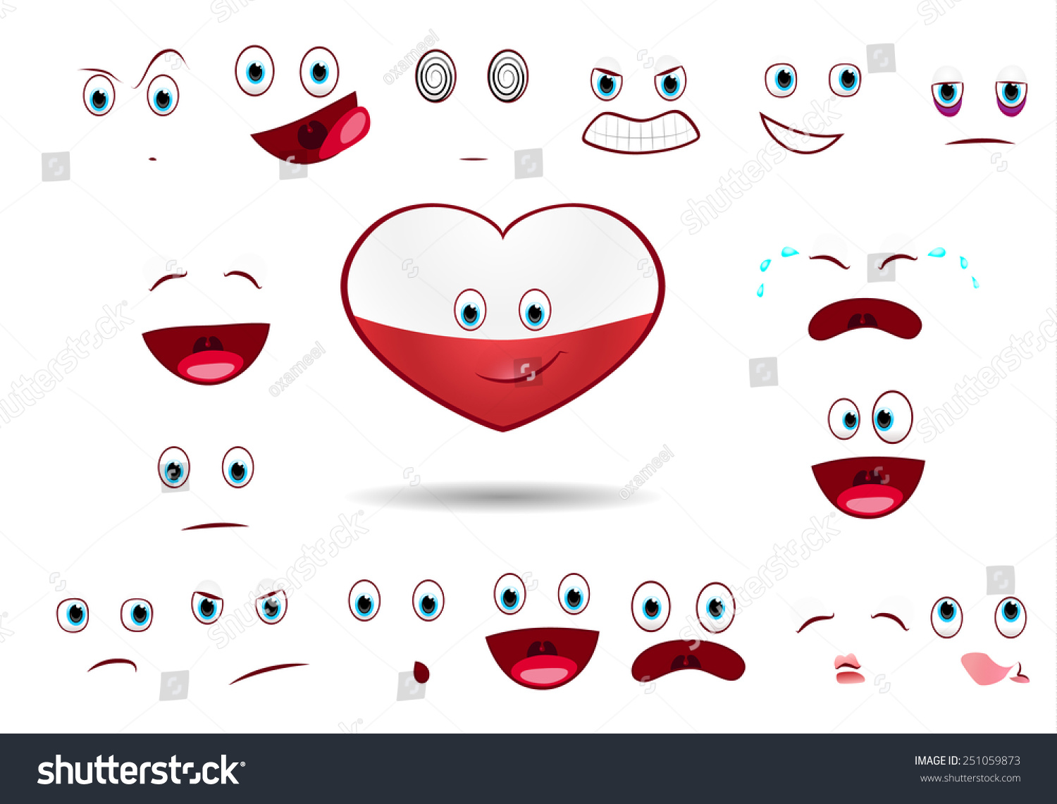flag poland stock vector 251059873 shutterstock