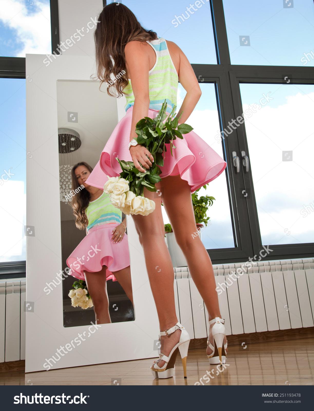Miniskirts And High Heels