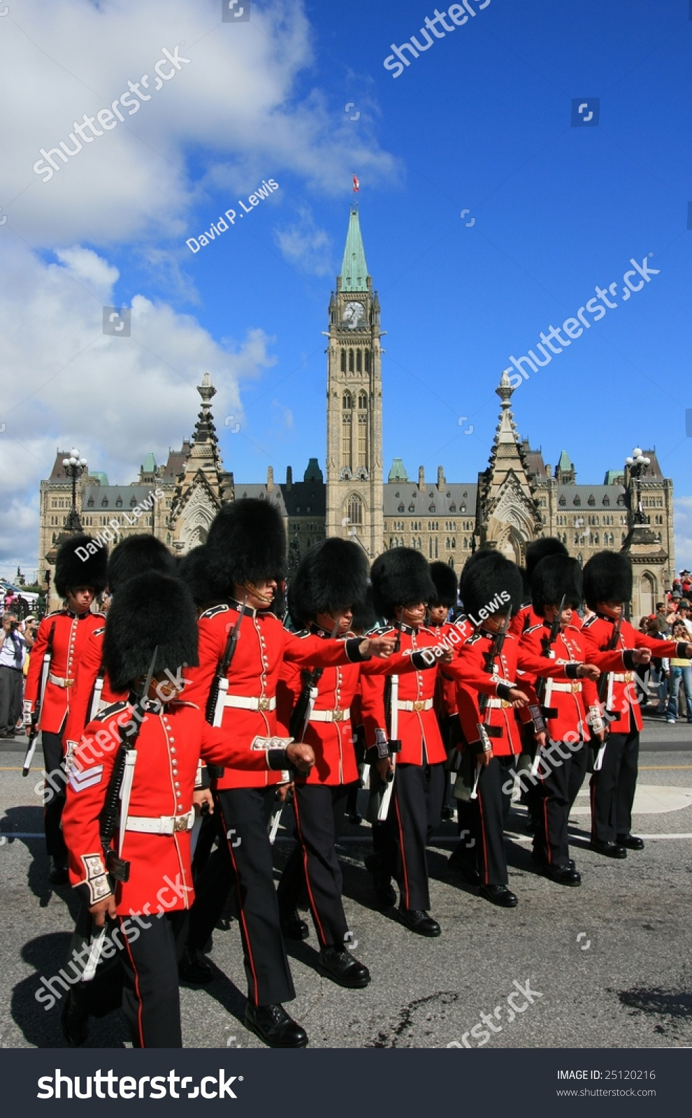 The governor general s foot guards -  The Governor General S Foot Guards During Changing Preview Save To A Lightbox