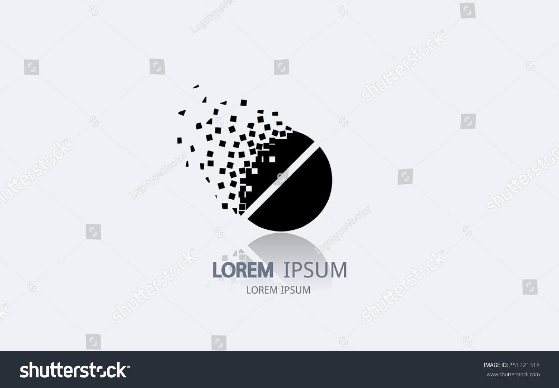 how to make pill logo