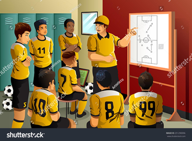 Футболисты остались в раздевалке наедине 15 фотография