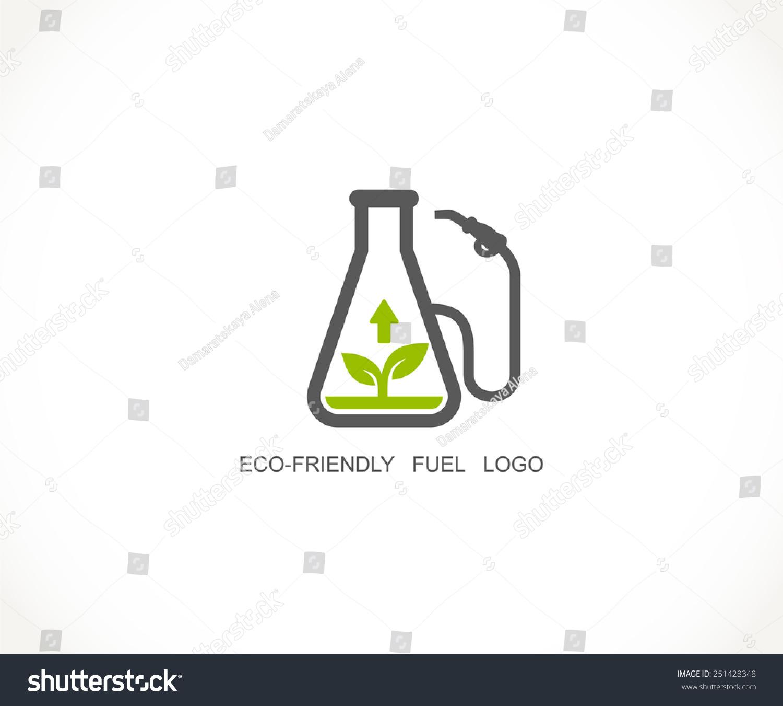 bio fuel logo ecofriendly fuel symbol stock vector 251428348 shutterstock. Black Bedroom Furniture Sets. Home Design Ideas