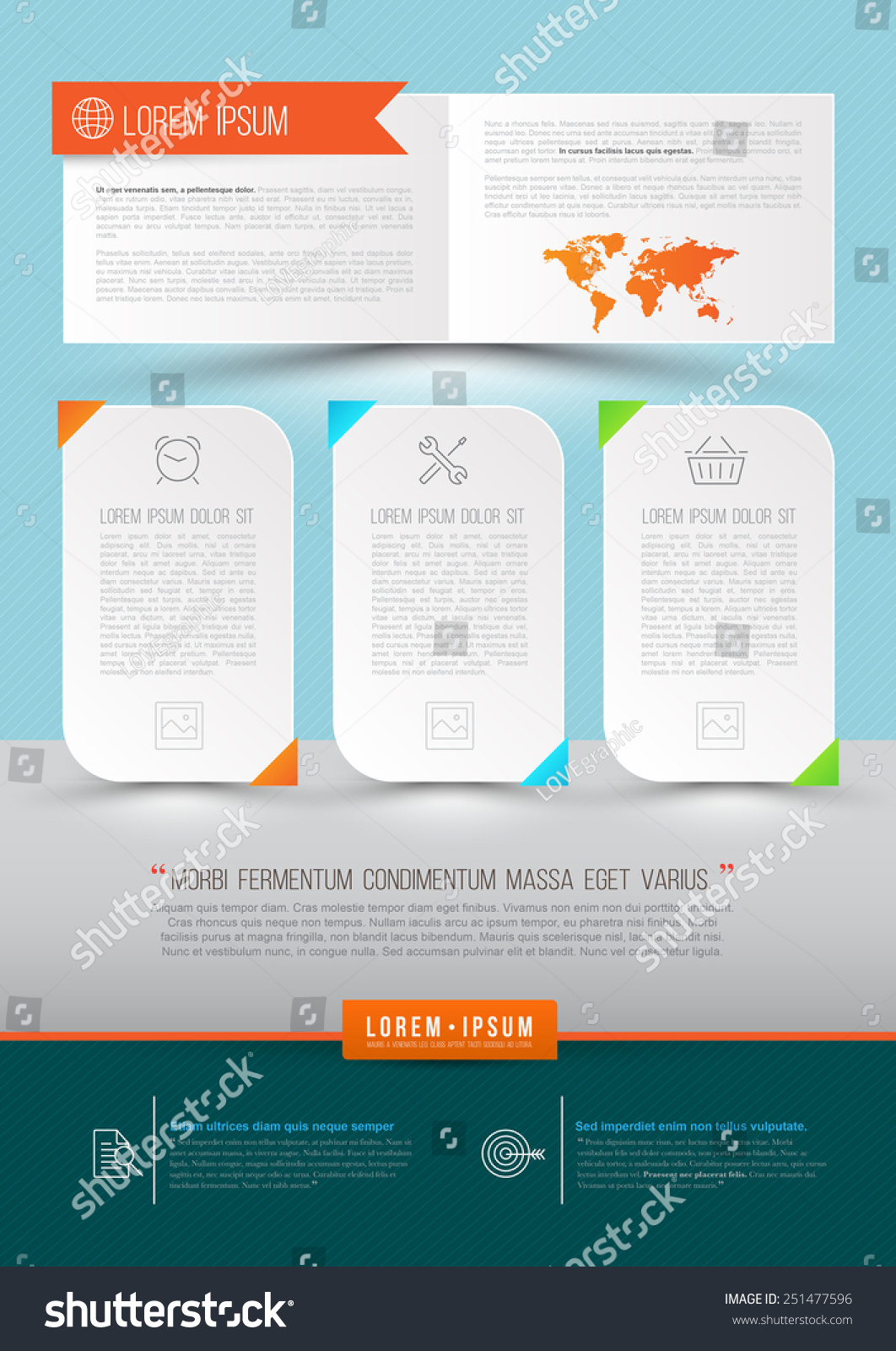brochure modern design - modern vector abstract brochure report document or flyer