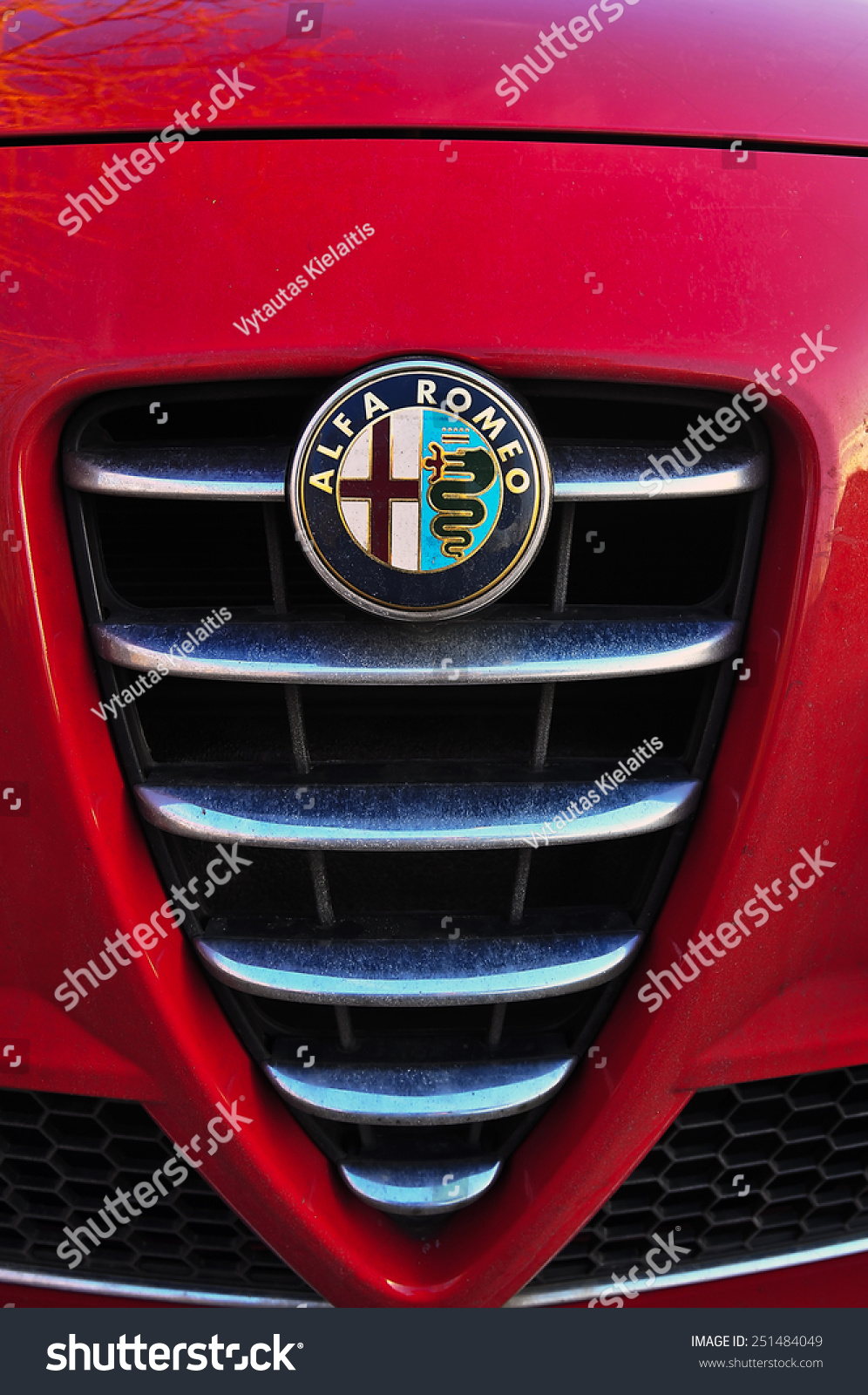 Mainzgermanyfeb 07 Alfa Romeo Logo On February Stock Photo Edit Now Mainzgermany Feb 07alfa 072015 In