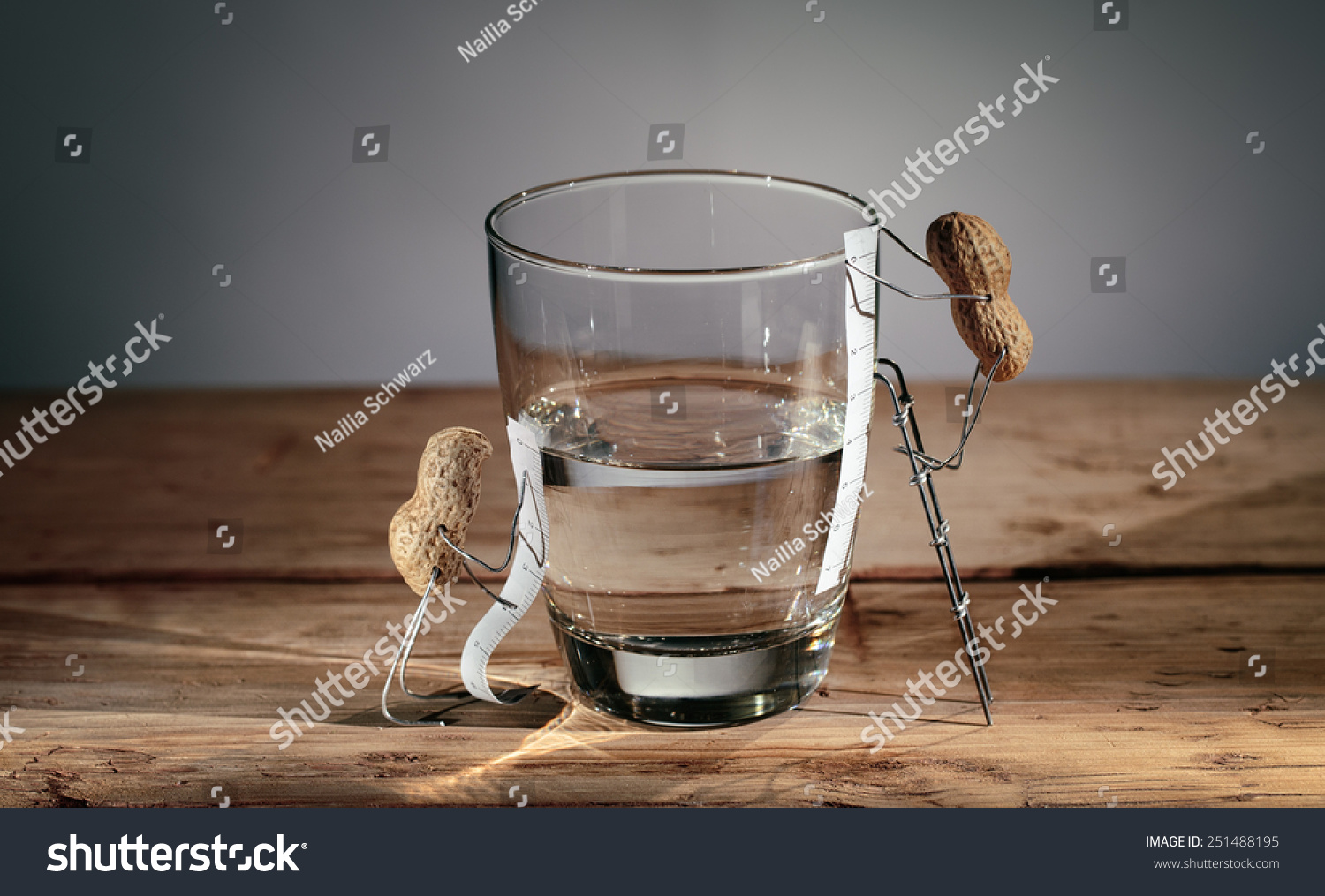 Simple things peanuts miniature half empty or half full for Things that are empty