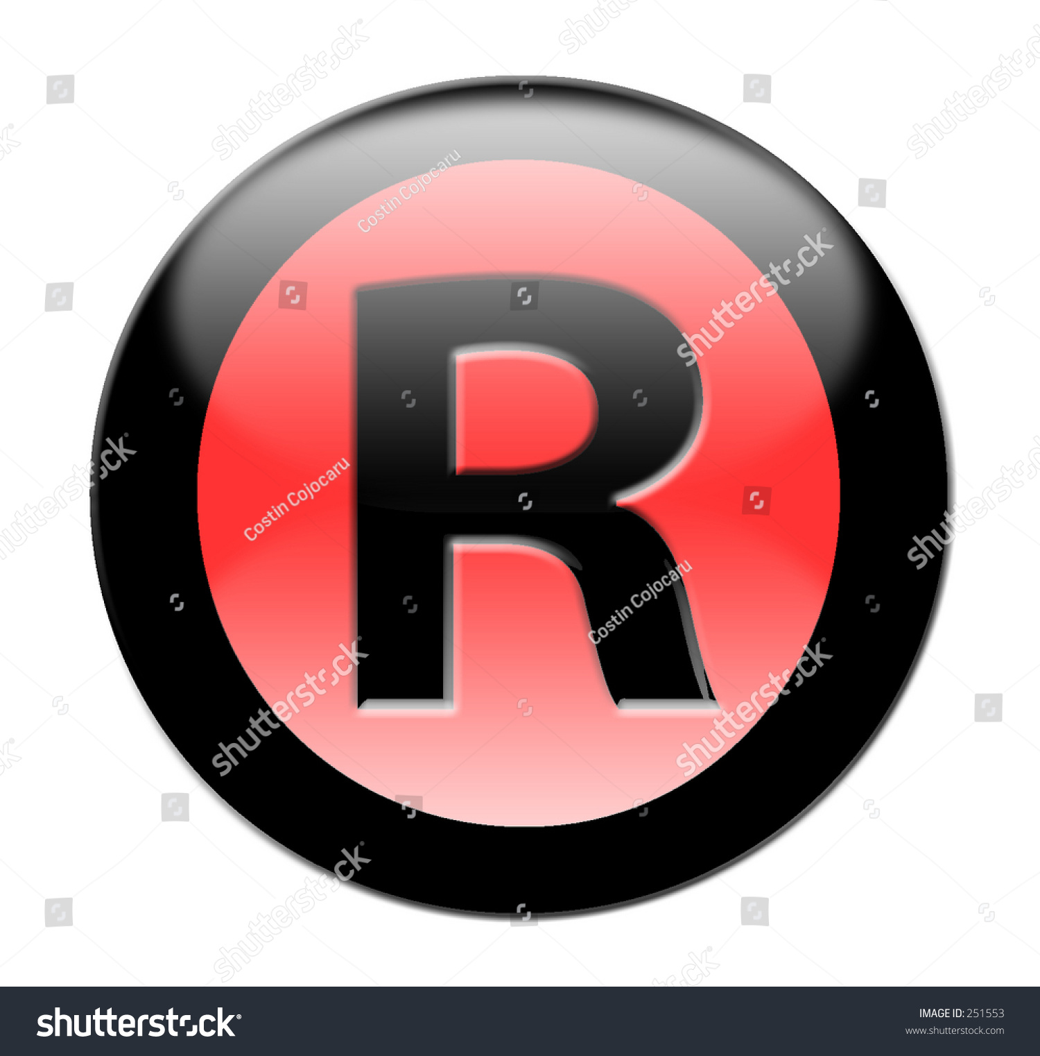 Registered symbol stock photo 251553 shutterstock registered symbol buycottarizona Gallery