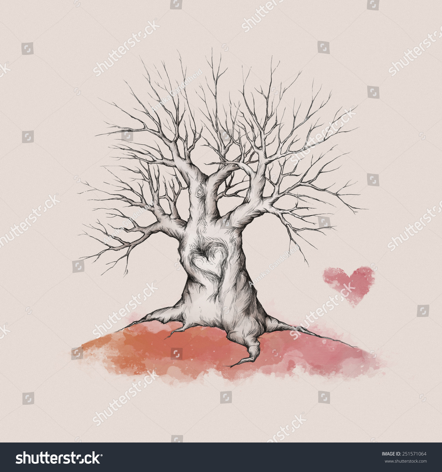 stock photo wedding tree without leaves wedding tree wedding tree without leaves