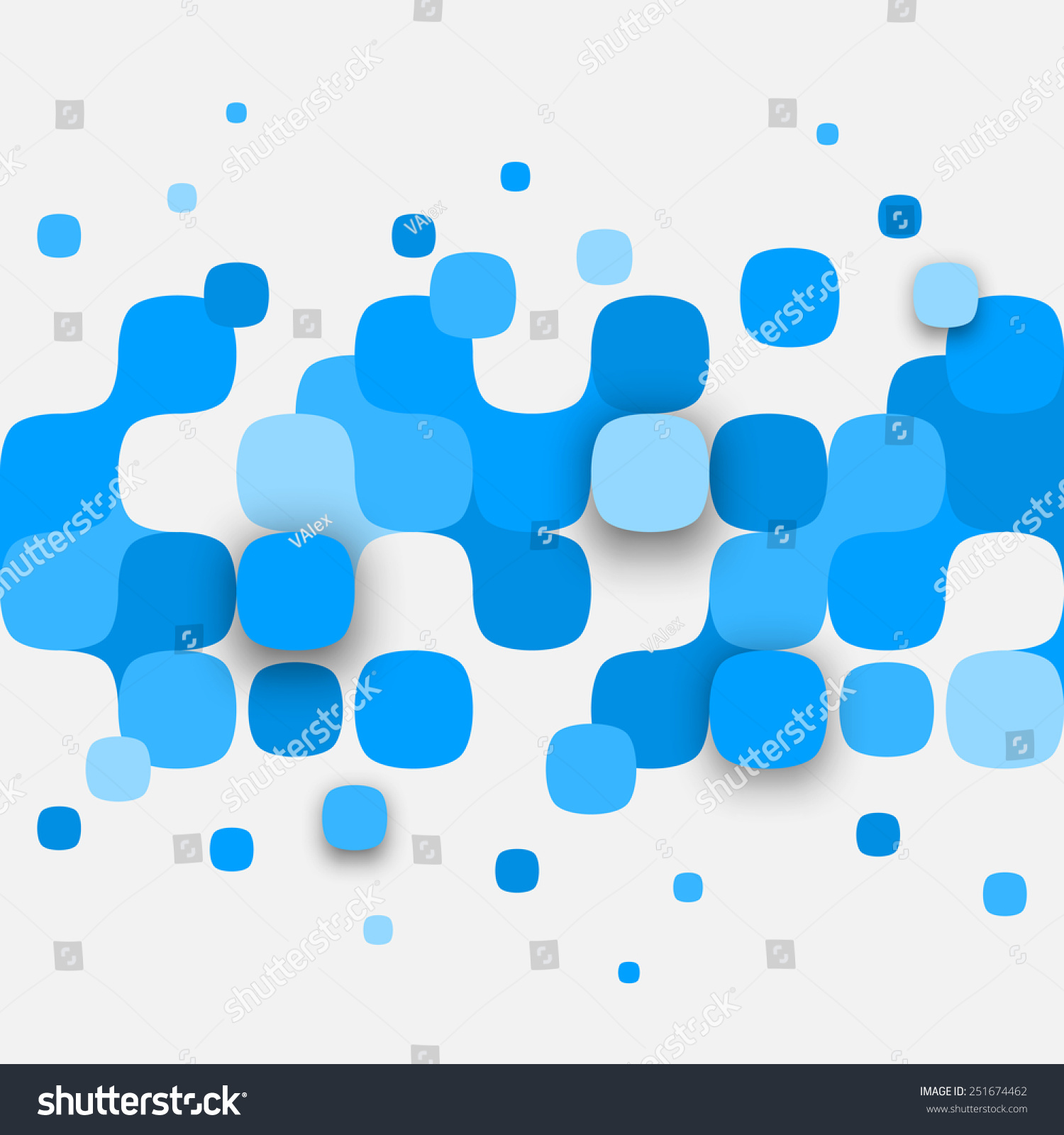 Vector Background Illustration Abstract Texture Squares