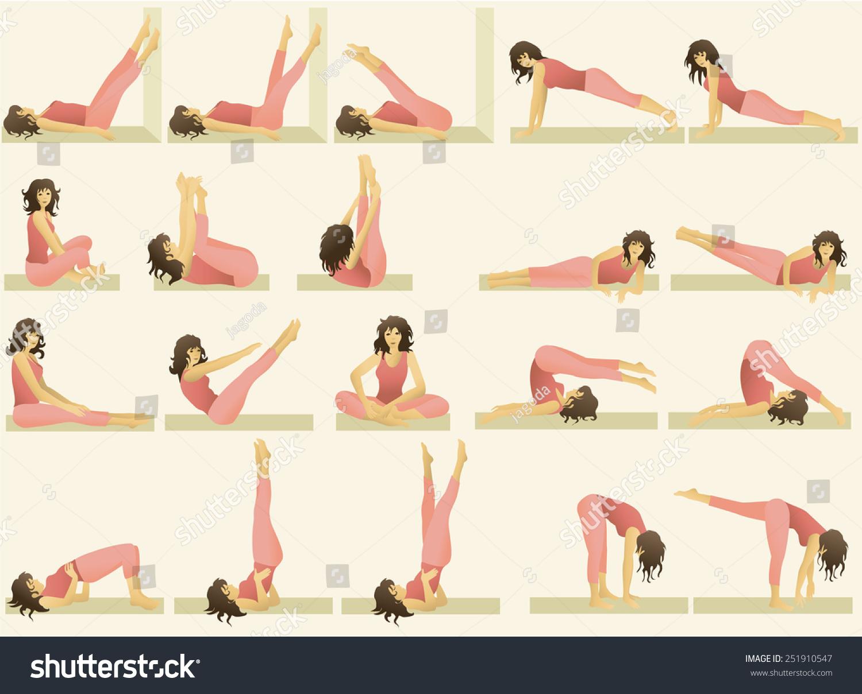Физические упражнения для похудения живота, бедер, ягодиц и ног 41
