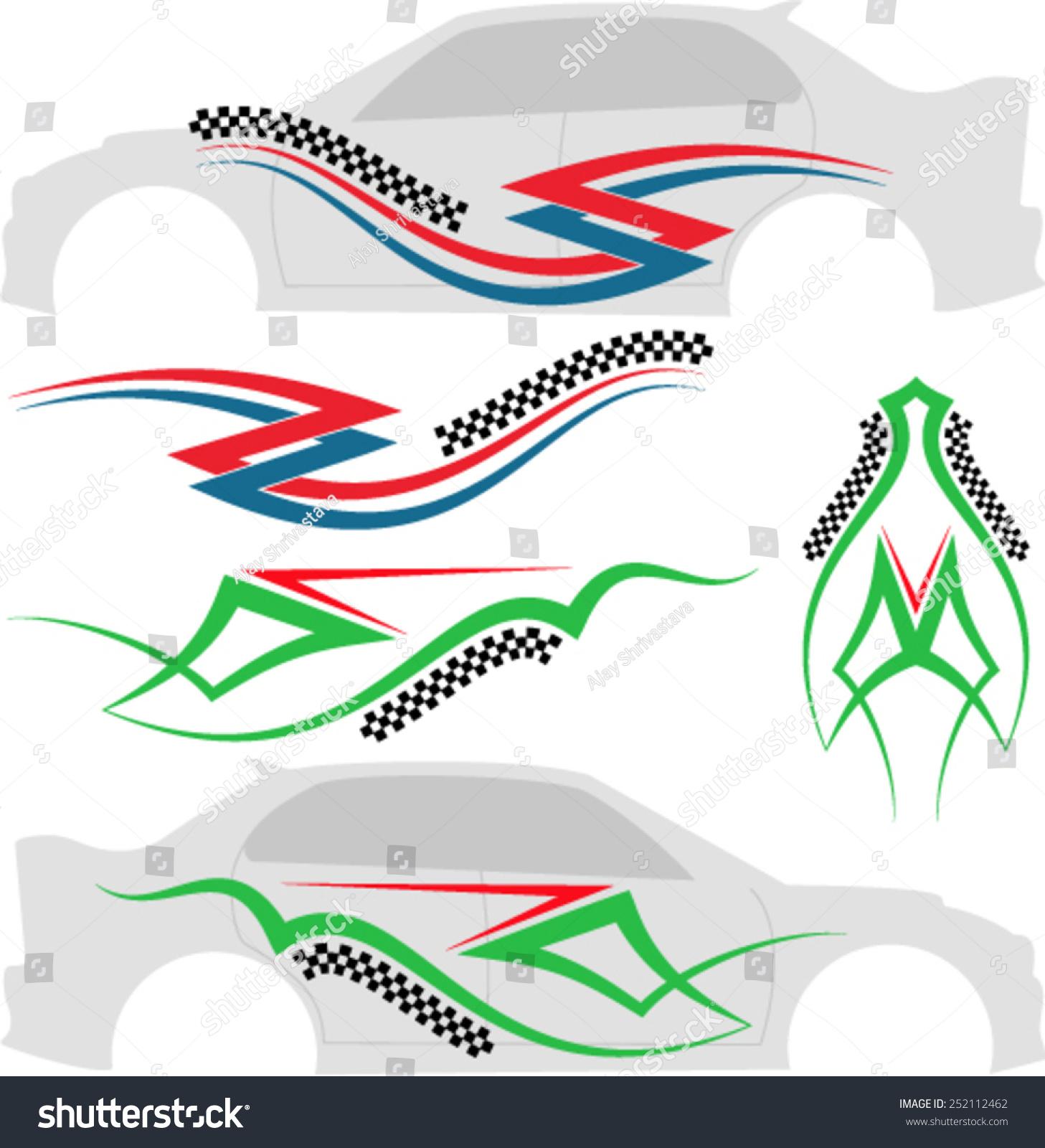 Prime Vehicle Graphics Stripe Vinyl Ready Vector Art 252112462 Easy Diy Christmas Decorations Tissureus