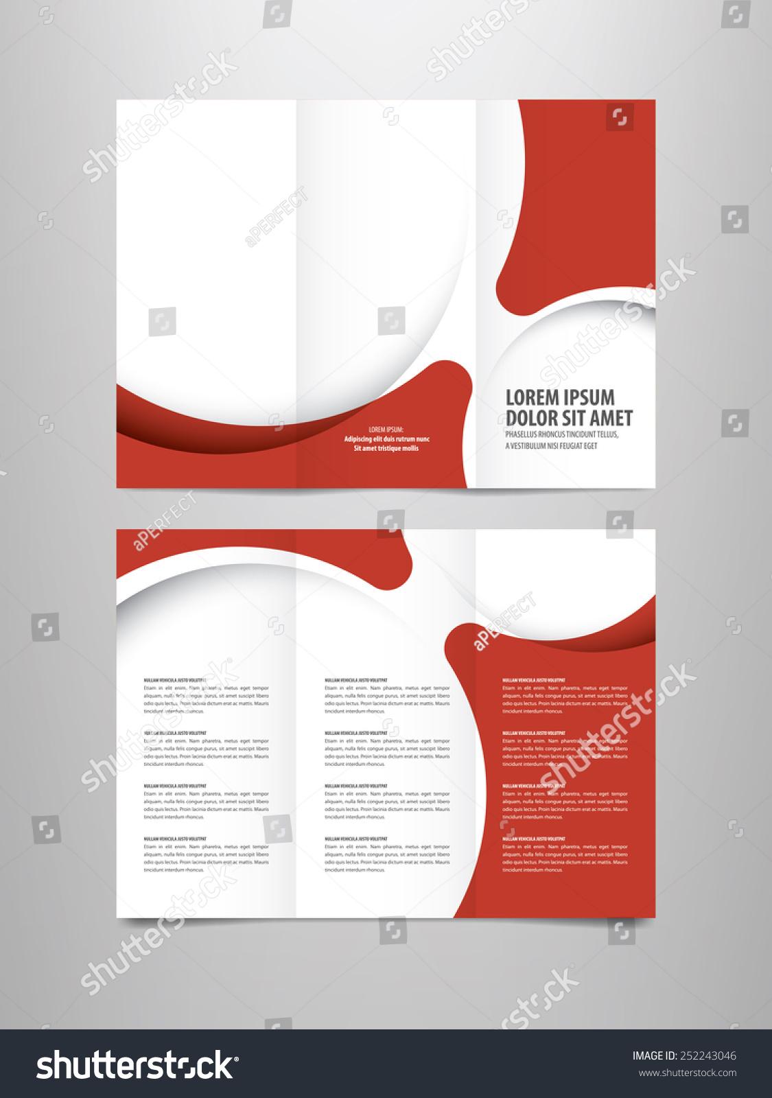 Tri Fold Business Brochure Template Ez Canvas