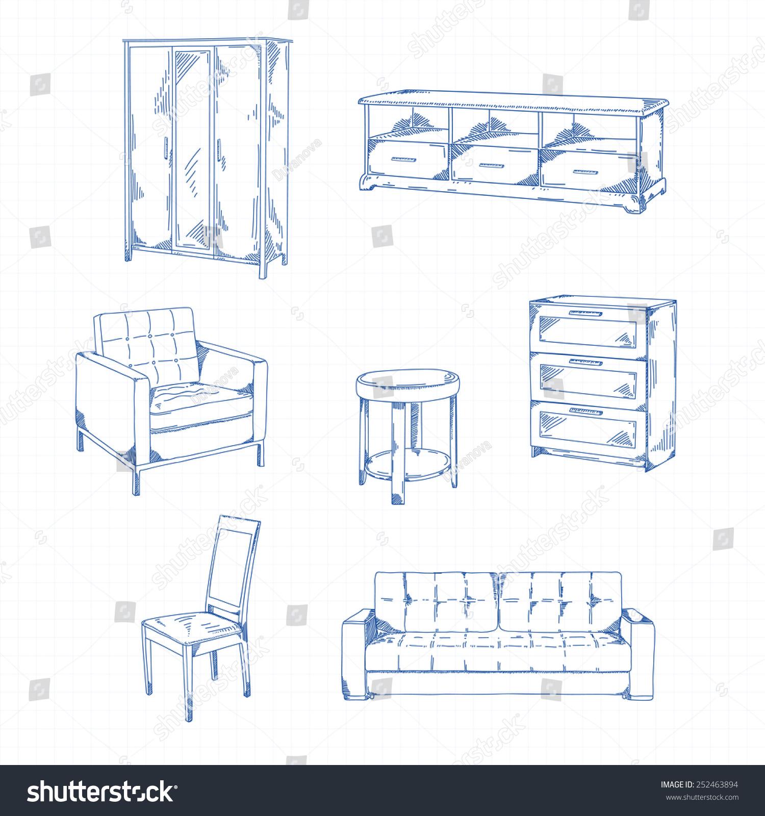 Elegant sofa Table Chair