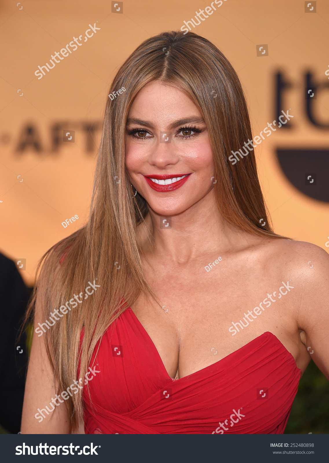 LOS ANGELES JAN 25 Sofia Vergara arrives to the 21st Annual Screen Actors Guild Awards on January 25 2015 in Los Angeles CA