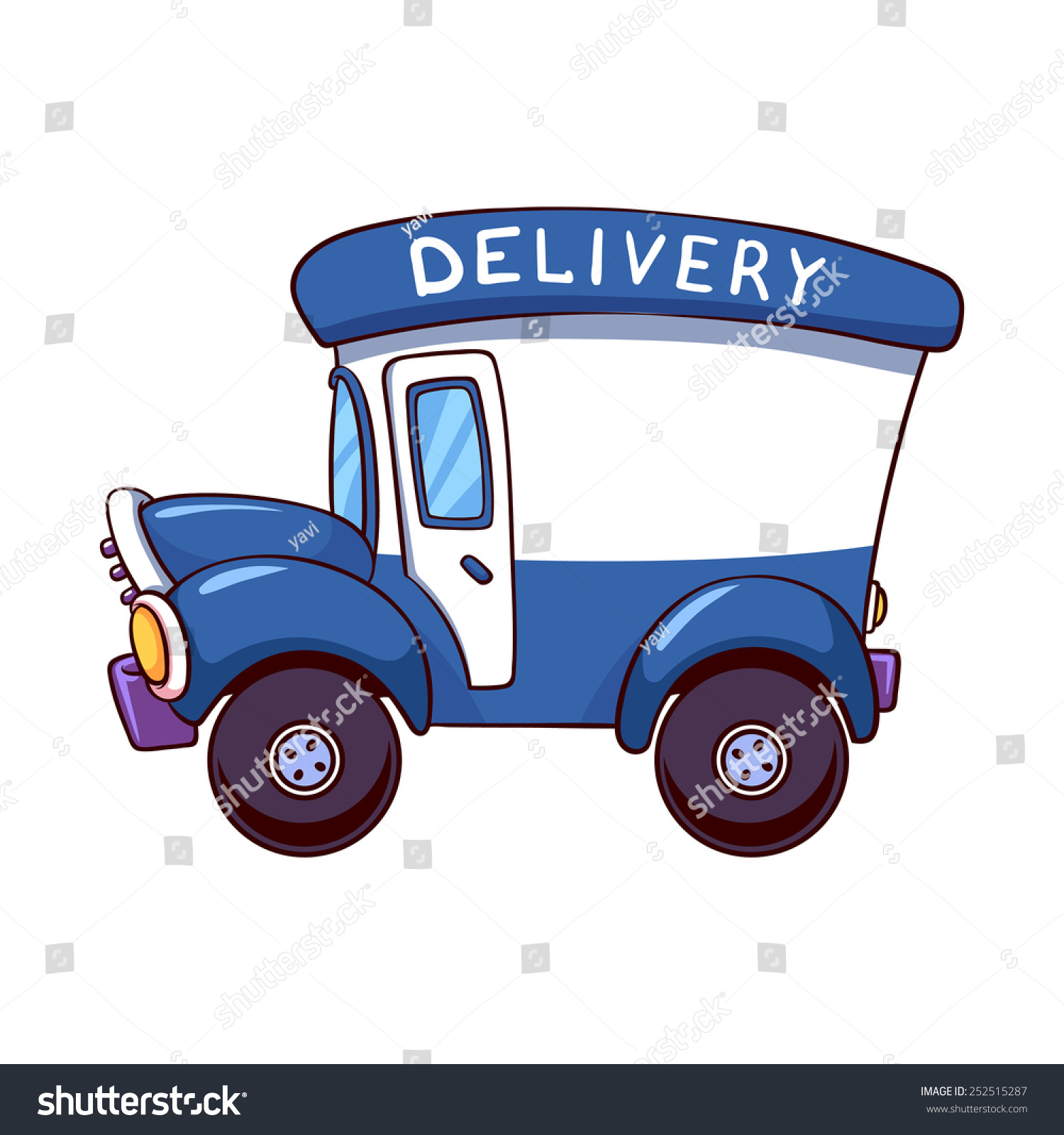 delivery truck clipart images - photo #18