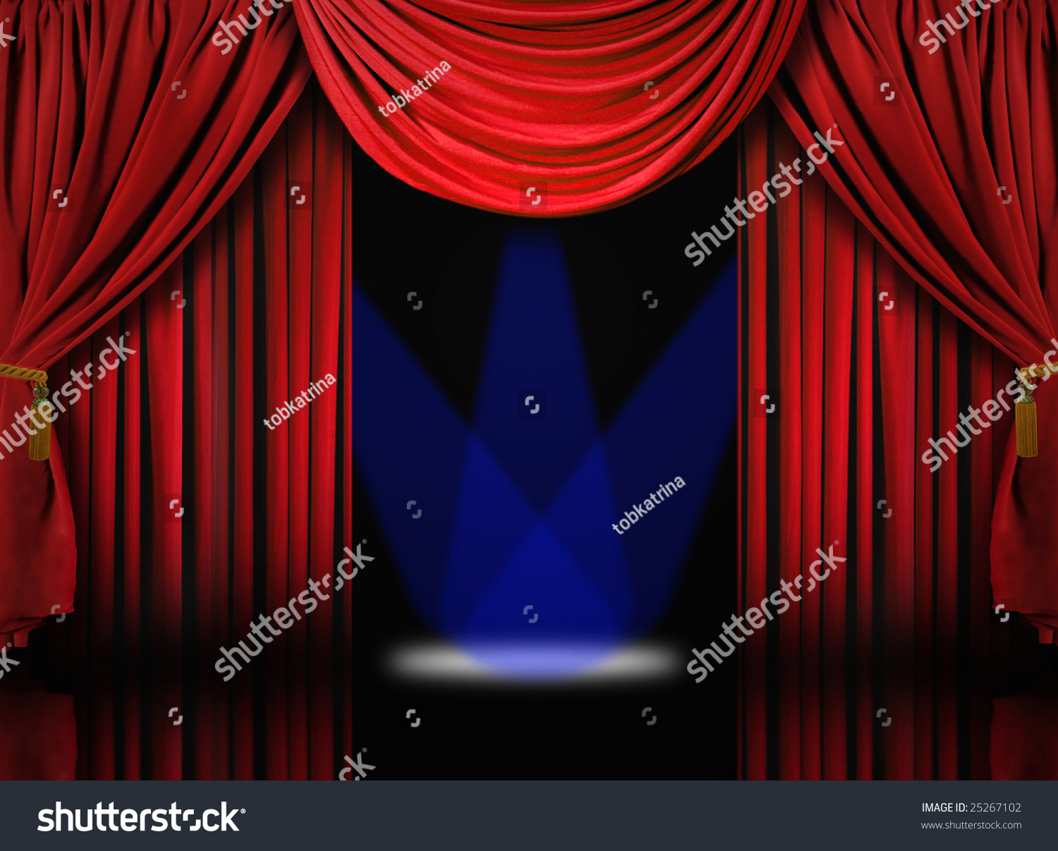 Stock photo dramatic red old fashioned elegant theater stage stock - Save To A Lightbox Find Similar Images Share