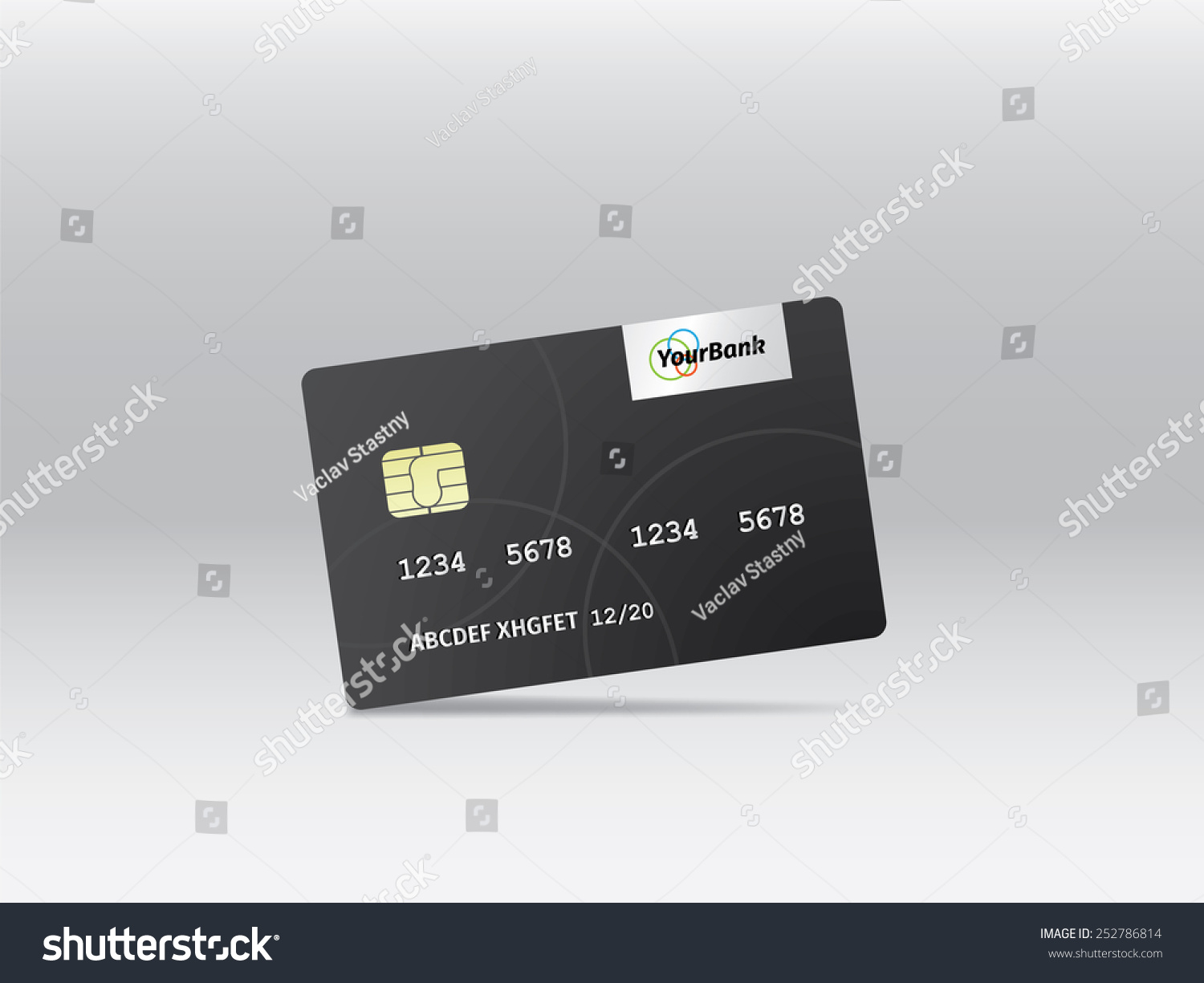 Realistic Vector Credit Card Business Finance Stock Vector ...