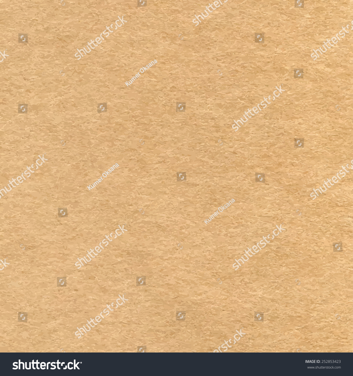 Vector Highresolution Blank Craft Recycled Paper Stock ...