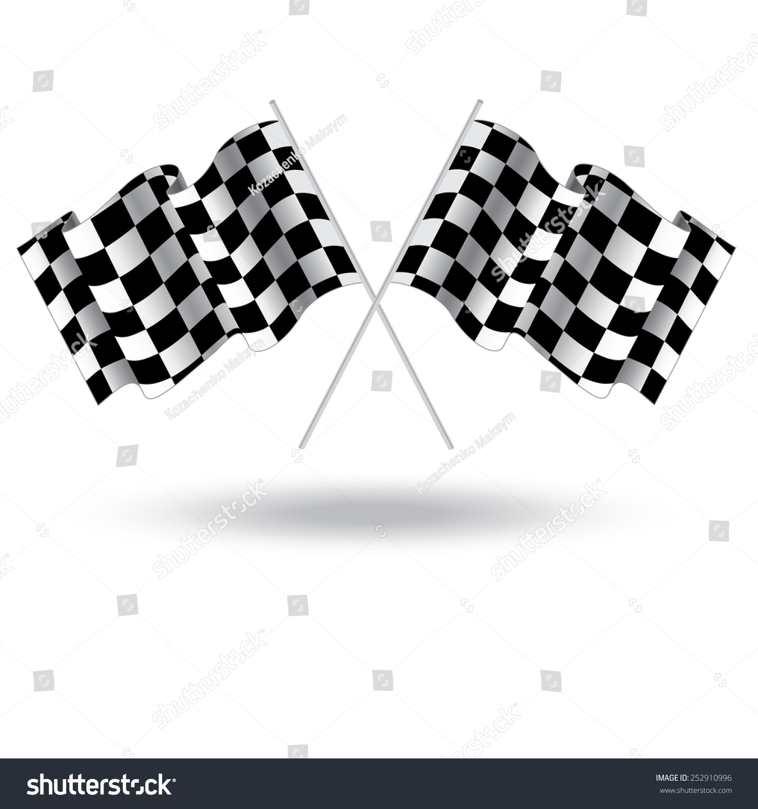 Racing Checkered Flag >> Online Image & Photo Editor - Shutterstock Editor