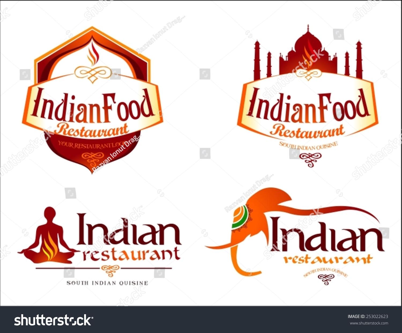 Indian Fast Food Restaurant Logos