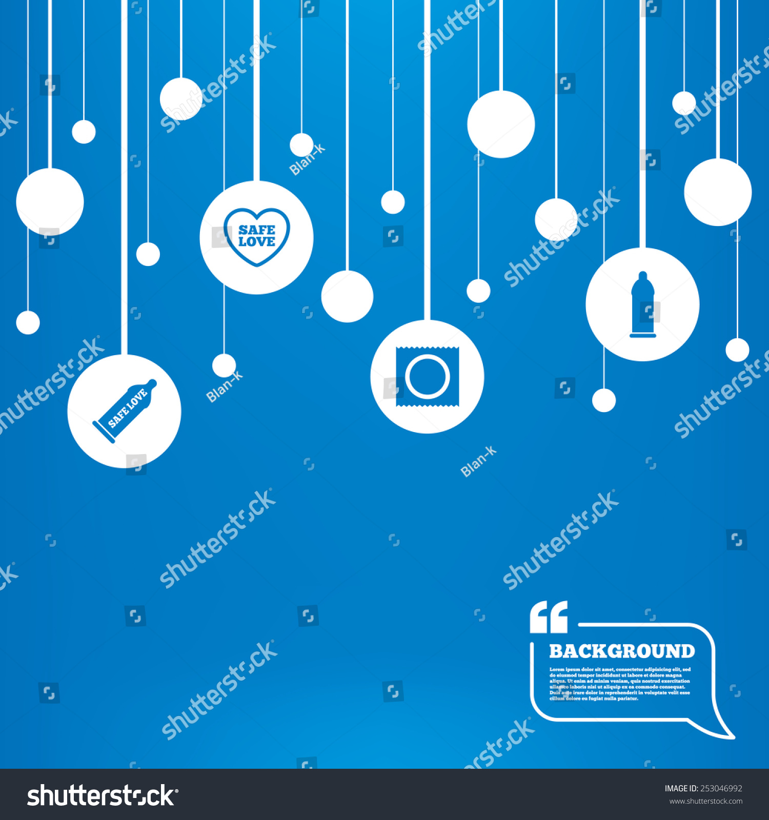 Circles background lines safe sex love stock vector 253046992 safe sex love icons condom in package symbol fertilization buycottarizona