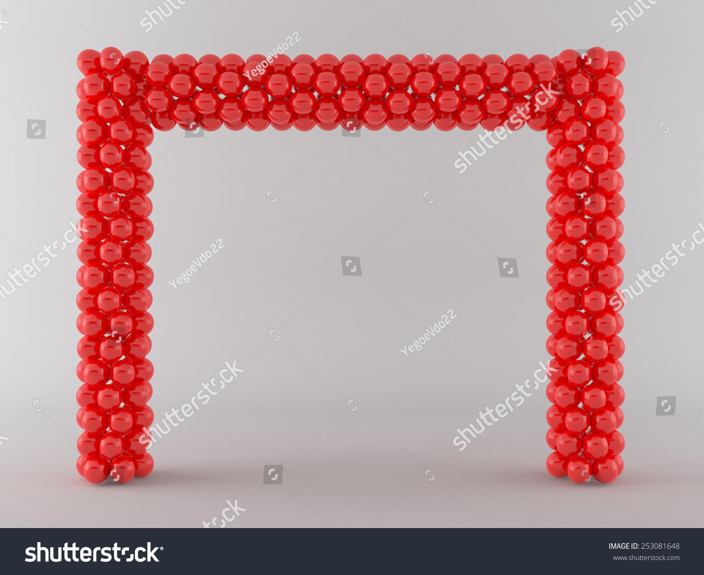 Balloon Arch Stock Illustration 253081648 - Shutterstock