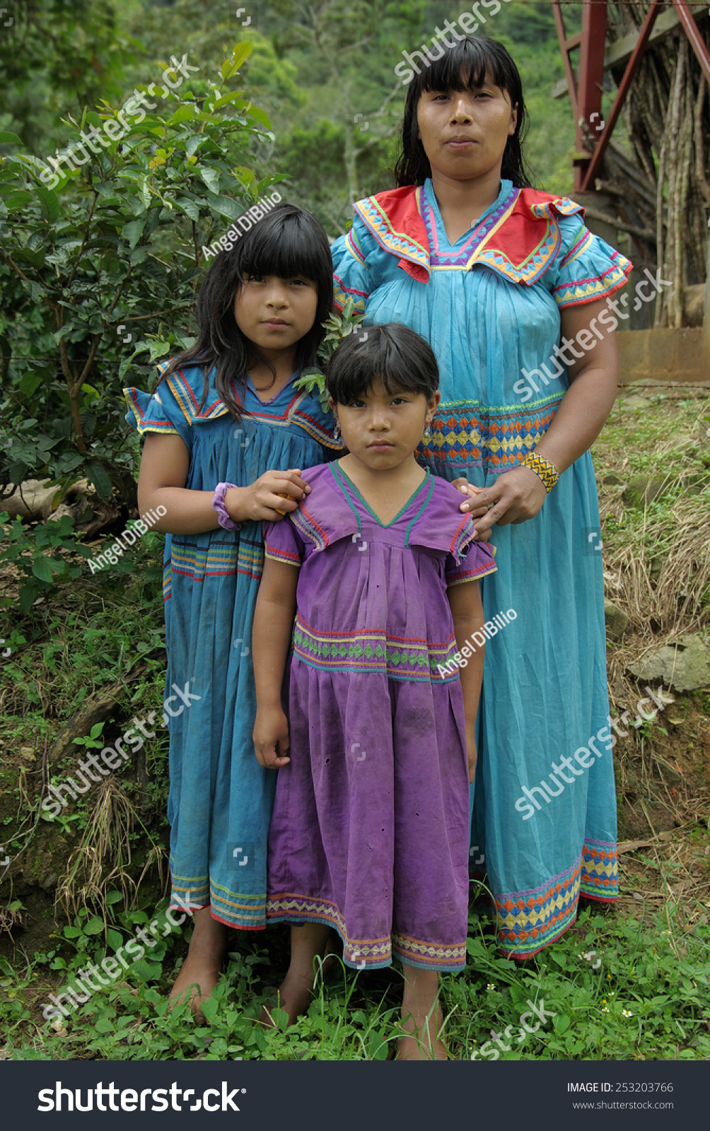 Boquete Chiriqui Panama August 20 Unidentified Stock Photo Edit Now 253203766