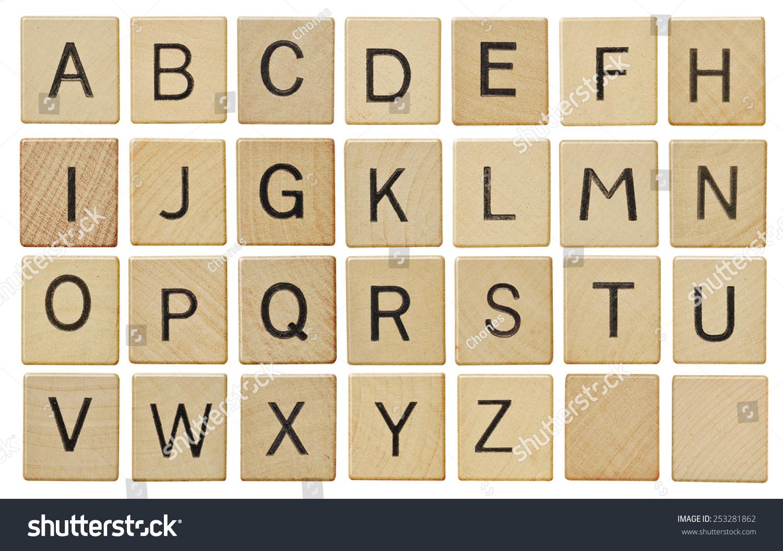 Image Gallery Scrabble Pieces