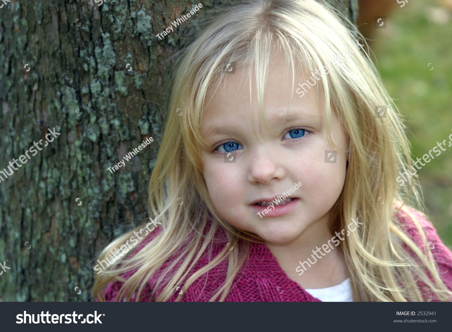 blonde little girl