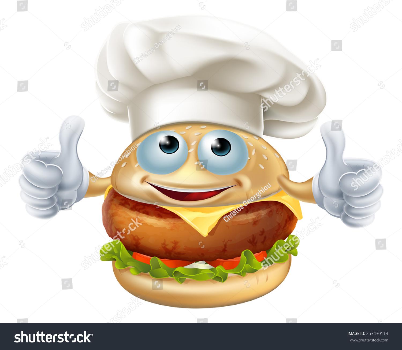Stock Vector Cartoon Chef