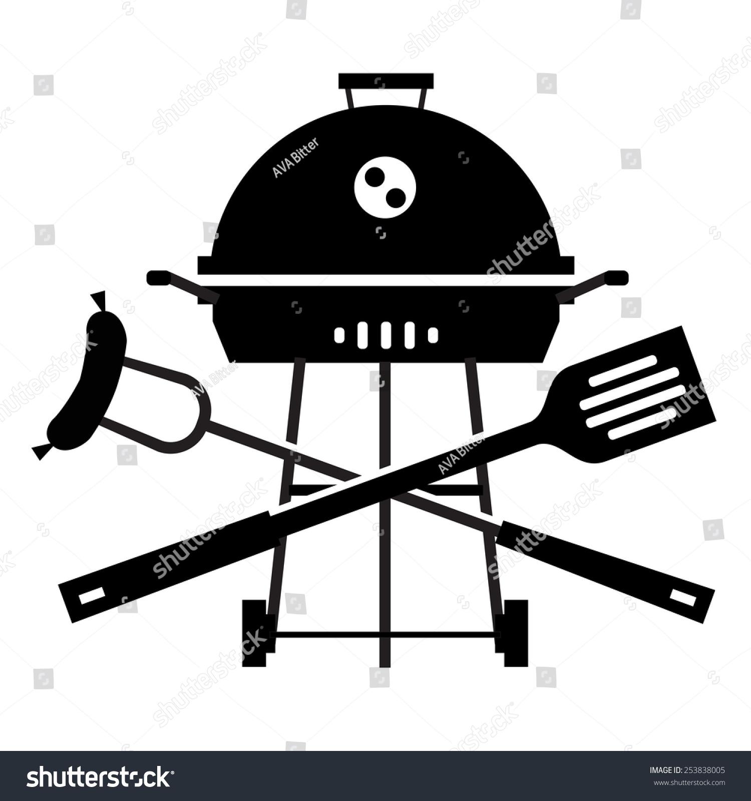 bbq vector logo design template grill stock vector hd royalty free rh shutterstock com bbq victoria bc bbq vector logo