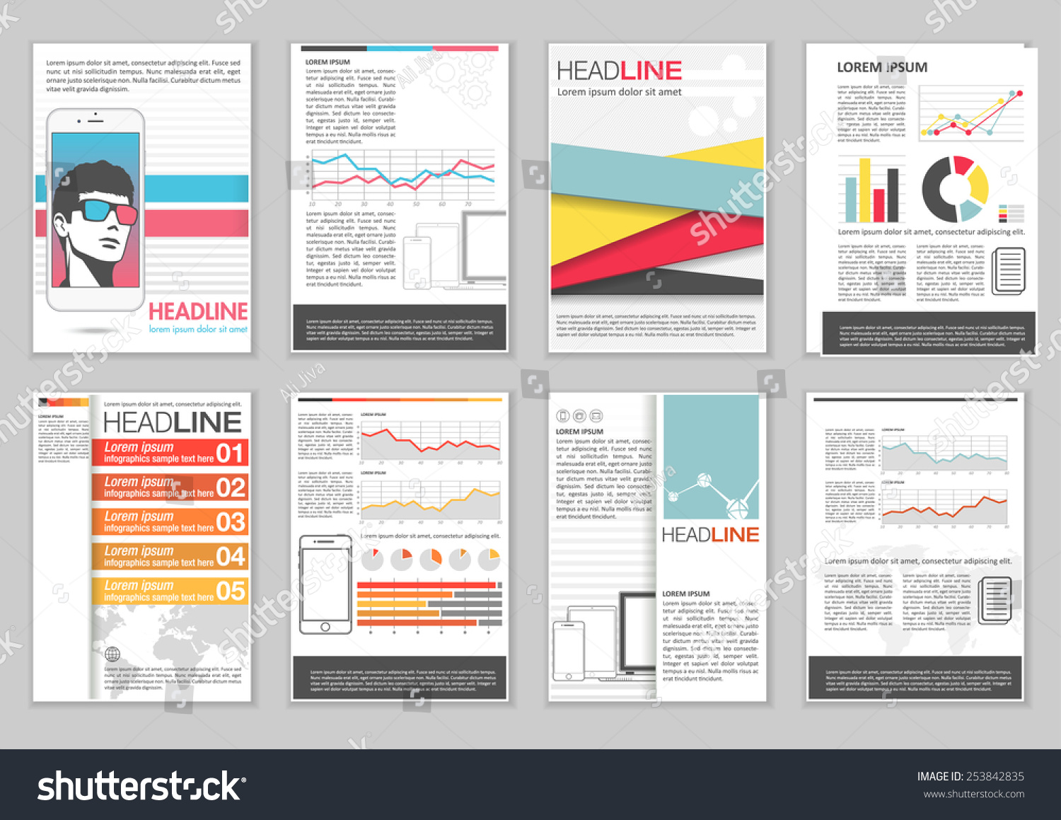 ... Leadership Skills For Resumeinformation Leaflet Template Leaflet U2013 Sample  Pamphlet Templates ...