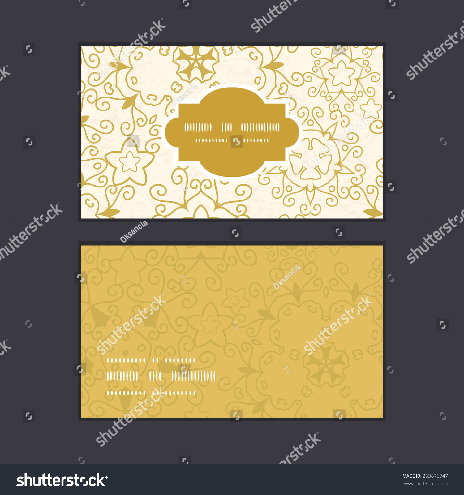 Vector Abstract Swirls Old Paper Texture Stock Vector 253876747 ...