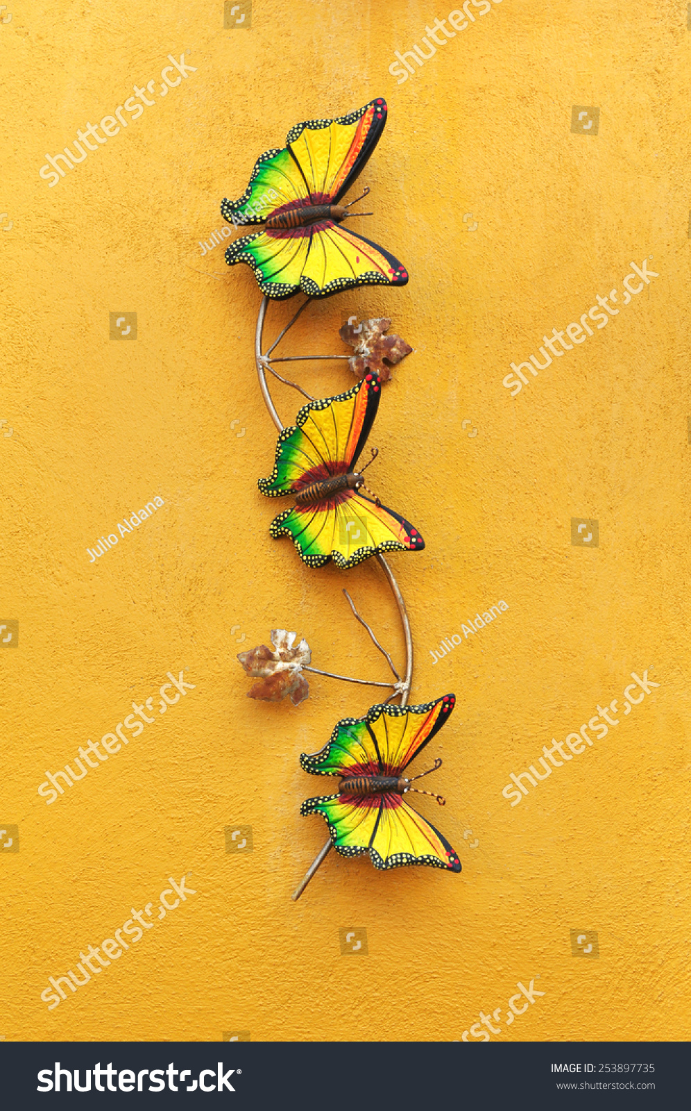 Generous Decorative Wall Butterflies Gallery - The Wall Art ...