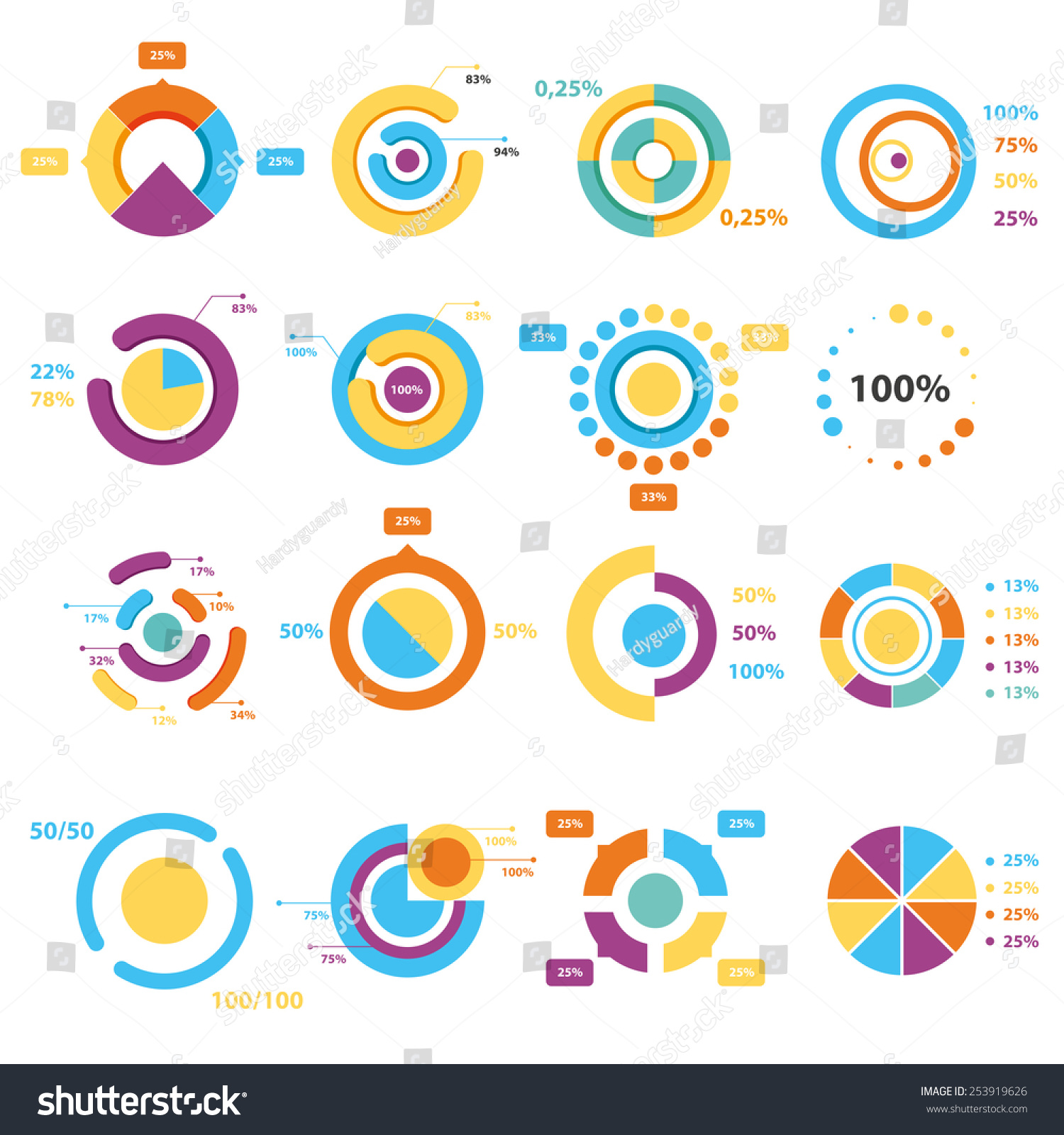 Infographic elements pie chart set icon stock vector 253919626 infographic elements pie chart set icon business elements and statistics with numbers geenschuldenfo Choice Image