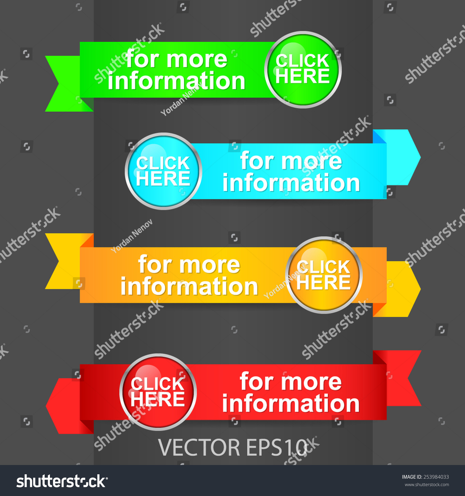 "More Pictures Click Here: ""Click Here For More Information"" Vector Banner With"