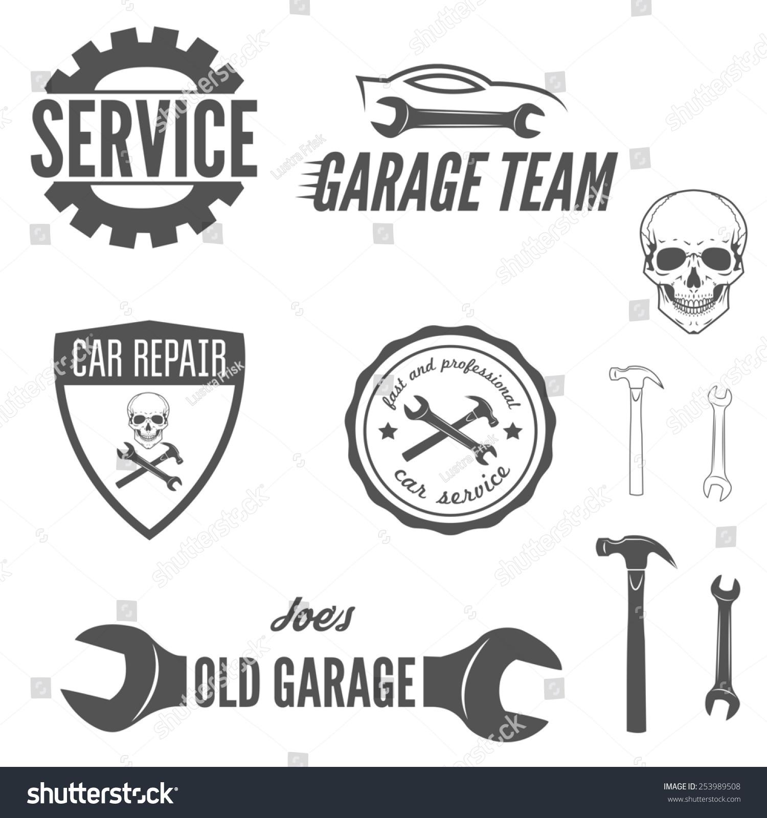 Set Of Logo, Badge, Emblem And Logotype Element For