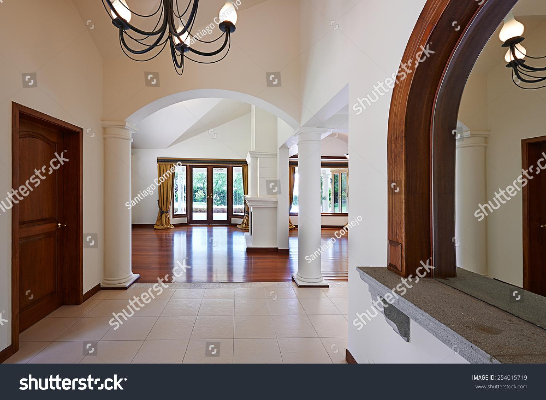 Big empty living room - Interior Design Big Empty Living Room 254015719