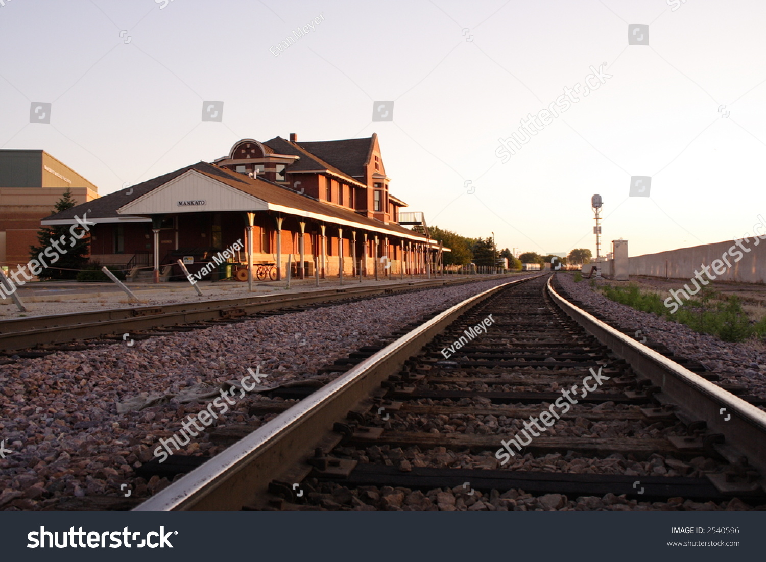 mankato train depot stock photo 2540596 shutterstock. Black Bedroom Furniture Sets. Home Design Ideas