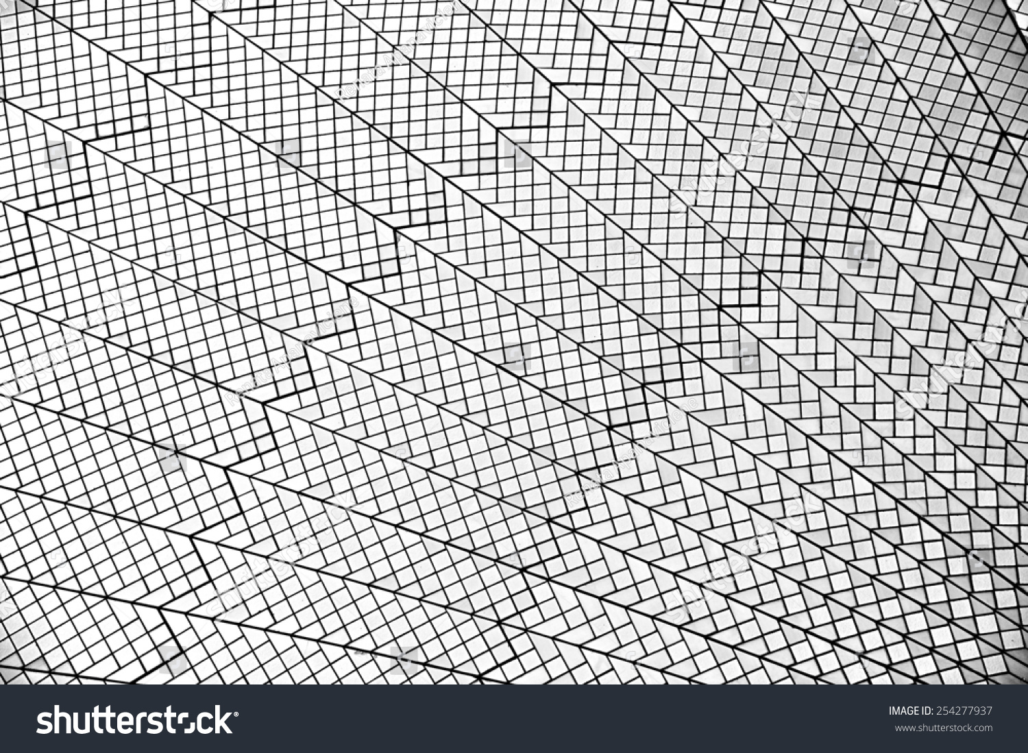 Abstract lines in black and white abstract exterior for Exterior background