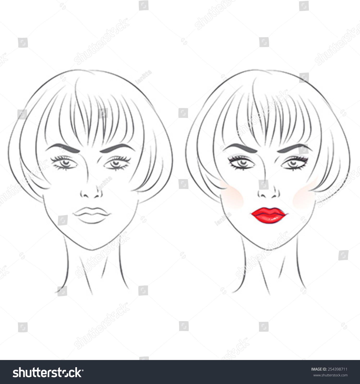 Makeup Templates Kleo Bergdorfbib Co