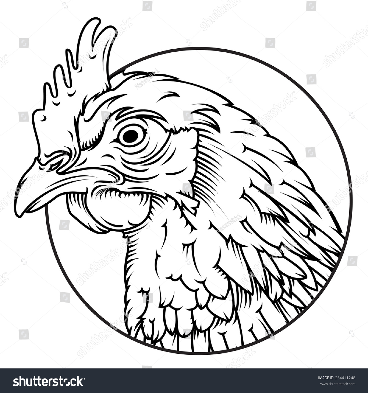 Line Drawing Chicken : Chicken line drawing pixshark images galleries