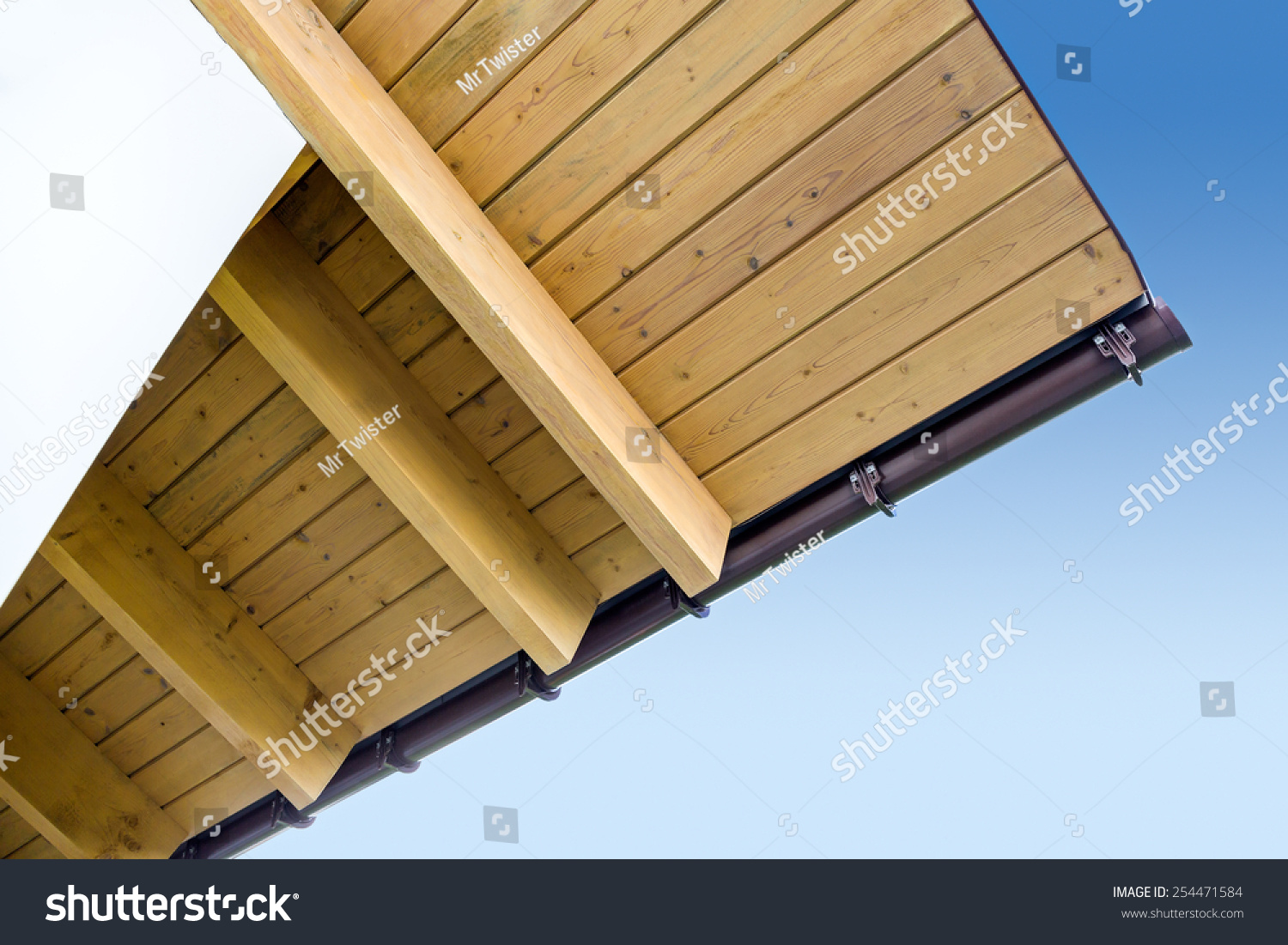 how to build eaves on a house