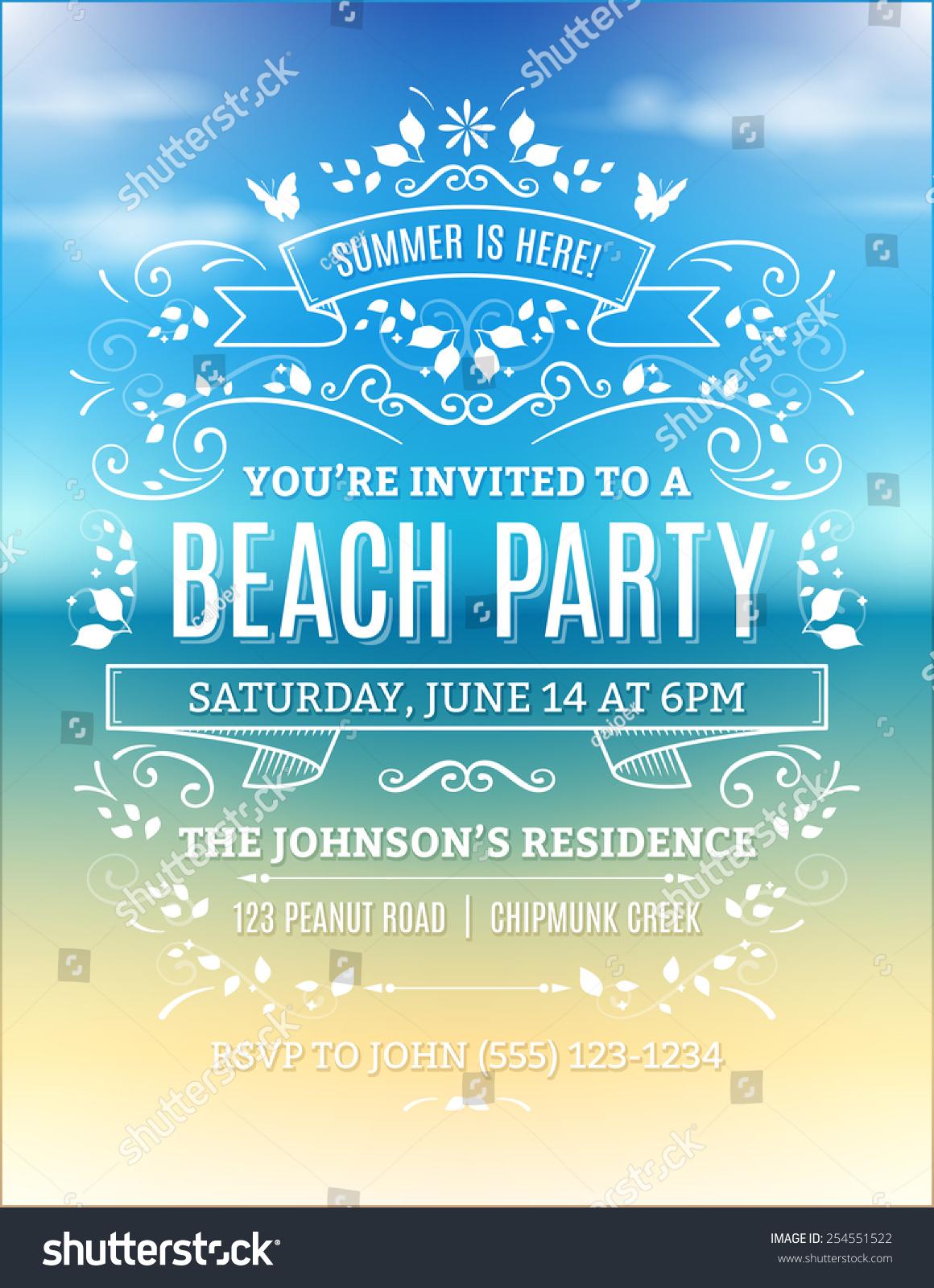 Free Printable Invitaions was best invitations design