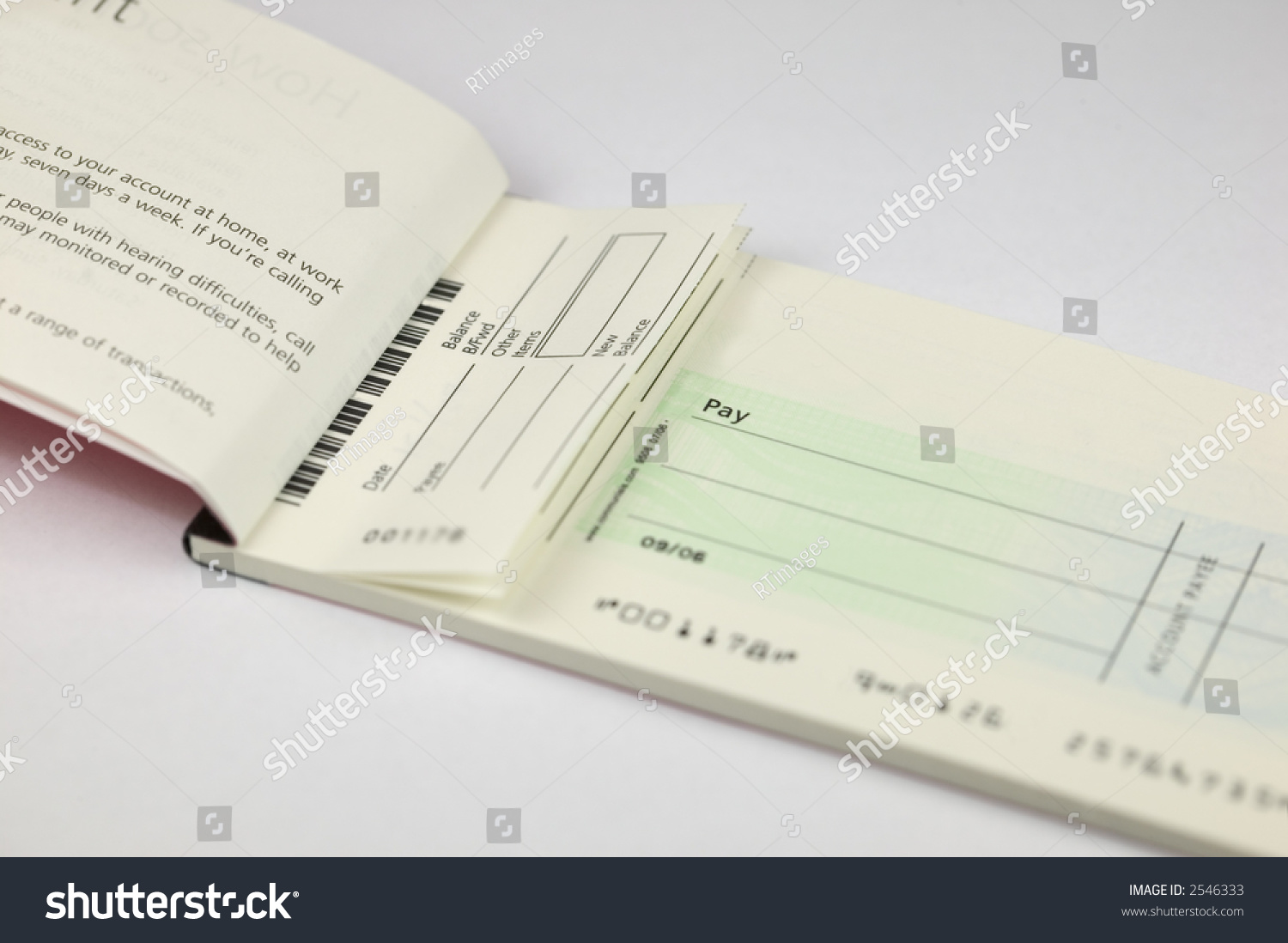 Write a cheque without a cheque book