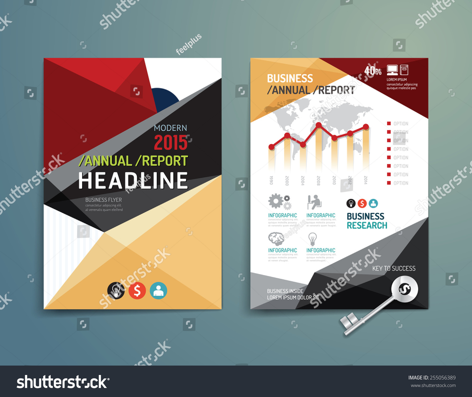 Poster design size - Vector Brochure Flyer Magazine Cover Booklet Poster Design Template Layout Education Annual Report