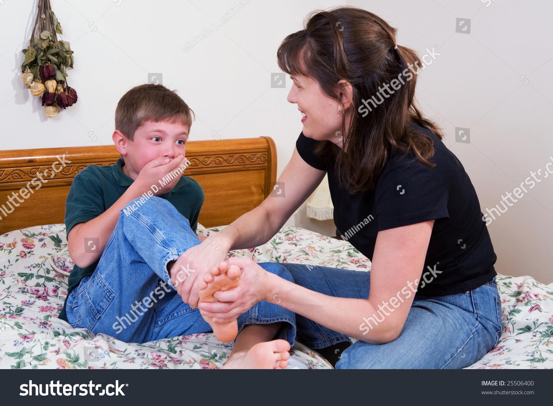 Mother Tickling Daughter Feet  Hot Girl Hd Wallpaper-8451
