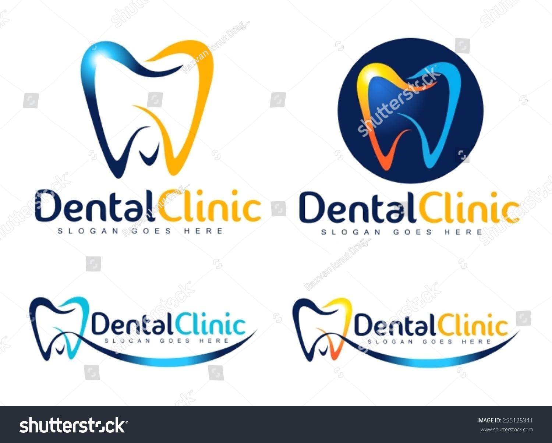 Royalty-free Dental Logo Design.Creative Dentist… #255128341 Stock ...