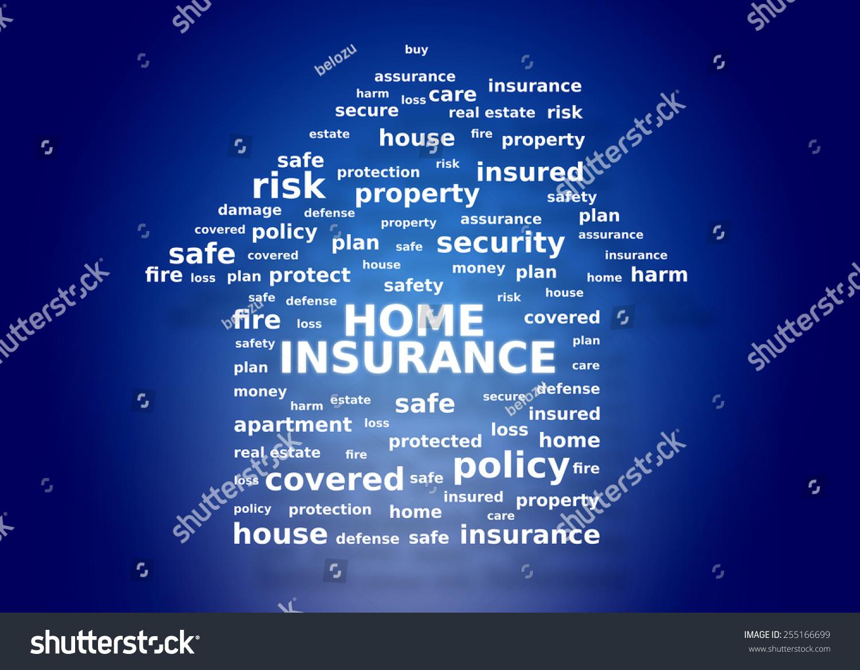 home insurance concept stock illustration 255166699 - shutterstock
